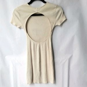 📦Urban Outfitters Aly Ribbed Openback Dress Sz S